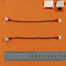 Разъем гнездо питания Acer Aspire E5-522 E5-532 E5-573 E5-574 V3-574 V3-575 EX2511 PJ962 (18cm, с проводом/кабелем)