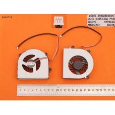Вентилятор для Clevo W150ER W350 W370ET W370, DNS W670SFQ, HASEE K590S K660E K650C  (OEM)