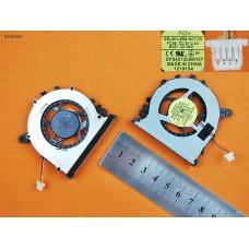 Вентилятор для Samsung NP530U3C NP530U3B NP535U3C NP540U3C NP532U3C NP542U3X, (Original)