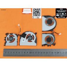 Вентиляторы кулеры для Xiaomi PRO13 Mi Air 13.3 2016-2017, (FA05B12 01A01X 023.1007A.0011 023.10079.0011 FHQV, Original)