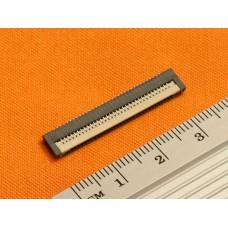 Разъем для клавиатуры ноутбука Toshiba (34pin*0.8mm, Flip type)