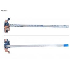 Кнопка включения с шлейфом для HP 15-A 15-AC 15-AY 15-AF, 250 G4 255 G4, TPN-C125 TPN-C126 LS-C701P