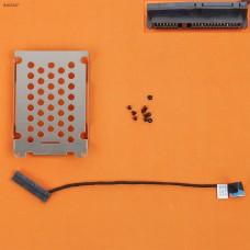 Шлейф для второго HDD/SSD для HP Pavilion DV7-7000 DV7T-7000 (с креплением, Long Cable) 50.4SU17.021
