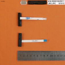 Шлейф HDD для HP 17-G 17-G190CY 17-G217CY 17T-G 17-G125DS DD0X18HD011