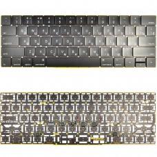 "Клавиатура Apple MacBook Pro A1707 15"" RU (черная, с подсветкой)"