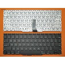 """Клавиатура Apple Macbook Air A1370 A1465 11.6"""" RU (горизонтальный ENTER, черная, под подсветку, Original)"""