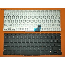 Клавиатура Apple Macbook Pro A1502 RU (горизонтальный ENTER, черная, под подсветку)