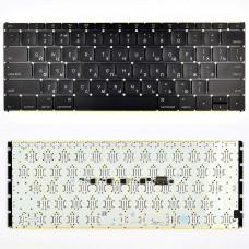"""Клавиатура Apple MacBook Core M 2015 12"""" A1534 RU (черная, с подсветкой)"""