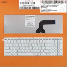 Клавиатура Asus K52 G53 G60 G73 X55 X61 Series. RU (белая, Original)