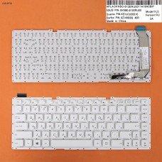 Клавиатура Asus X441 X441SA X441SC X441UA RU (белая, без рамки, Original)
