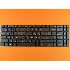 Клавиатура Asus Zenbook Ux51 RU (серая, без рамки, с подсветкой, Original)