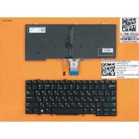 Клавиатура Dell Latitude 13 7380 E7380 RU (черная, с подсветкой, Original)