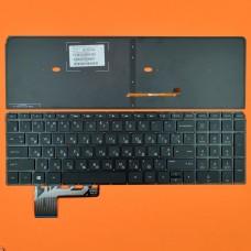 Клавиатура HP ENVY TouchSmart M6-K RU (черная, без рамки, с подсветкой, Original)