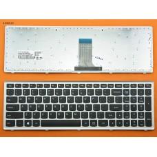 Клавиатура Lenovo U510 US (черная, с серебристой рамкой, Original)