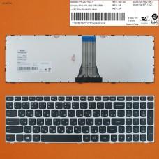 Клавиатура Lenovo IdeaPad g50-30 G50-70 Z50-70 B50-30 B50-45 Z51-70 500-14ACZ 500-15ISK RU (черная c серой рамкой, Original )