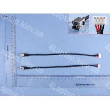 Разъем питания Toshiba C80 C850d C870 C870d C875 C875d L850 L850d K855d L875d L870d L875d-S7230 L875d-S7332 C50-A-1Dv C55d-A-11L L50-A-1El H000037850 Pj527 (с проводом 23см)