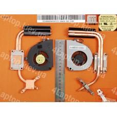 Вентилятор с радиатором Acer Aspire 5750 5750G E1-571G E1-571 5755 (для Intel I3 I5 I7 с дискретной видеокартой)