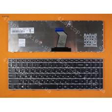 Клавиатура Lenovo Y570 Pink Frame Black (For Win8) RU