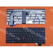 Клавиатура Lenovo ThinkPad T460S US чёрная
