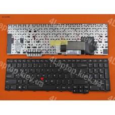 Клавиатура Lenovo Thinkpad E531 T540 US (чёрная, с шестью креплениями)