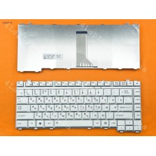 Клавиатура Toshiba Satellite A200,A205,A210,A215,A300,A305,M200,M300,L300. RU, Silver