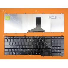 Клавиатура Toshiba Satellite C650,C655,L650,L655,L670,L675, Satellite Pro C650,L650,L670. RU,Glossy Black