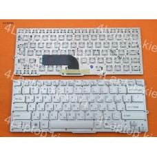 Клавиатура Sony Vpc-Sd, VPC-SB Series (For Backlit Version). RU, Серебристая