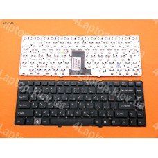 Клавиатура SONY VAIO VPC-EA Series RU, чёрная, без рамки