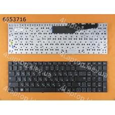 Клавиатура Samsung 300E7A 305E7A NP300E7A NP305E7A NP300 E7A без рамки, RU, Black