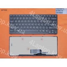 Клавиатура SONY VPC-CW US (чёрная, с рамкой)