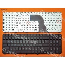 Клавиатура HP dv7-7000 RU чёрная с рамкой