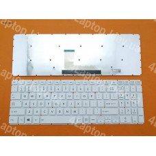 Клавиатура Toshiba Satellite L50-B US (белая, без рамки, Original)