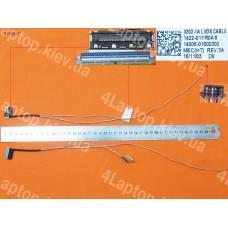 Шлейф матрицы Asus X302LA-1A 30Pin 1422-01YR0AS 14005-01600300