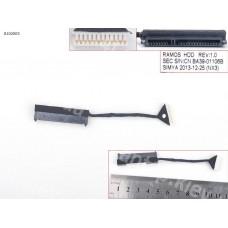 Шлейф HDD для Samsung NP200A5B NP300V4A NP300V5A NP400B4B NP700G7A, L=60mm