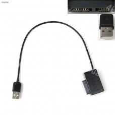 Переходник адаптер SATA 6+7pin на USB 2.0 для DVD ноутбука
