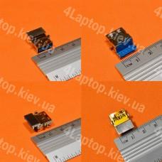Разъем USB 3.0 Asus g55vw G75VW g75vx k55de K55VD k55vm x55c x55v