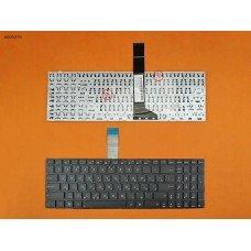 Клавиатура Asus X501 X501A X501U X550 X552 X750 RU (черная, 2 крепления)