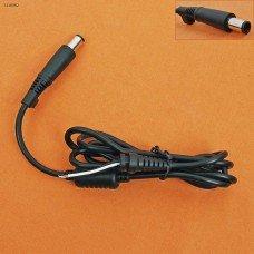 DC Кабель для блока питания ноутбука HP, DELL, 7.4*5.0 (1.2м, двухпроводной*0.3мм2, медный, с ферритом)
