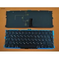 """Клавиатура Apple MacBook Air 11.6"""" A1370 A1465 MC505 MC506 MC968 MC969 RU Black (2011-2015, с подсветкой, вертикальный Enter)"""