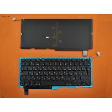 """Клавиатура Apple Macbook Pro 15"""" A1286 2009 2010 2011 2012 RU Black (с подсветкой, вертикальный Enter)"""