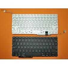"""Клавиатура для Apple Macbook Pro 17"""" A1297, 2009 2010 2011 2012, US, Black, (горизонтальный Enter)"""