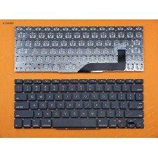 """Клавиатура для Apple Macbook Pro 15"""" Retina A1398, 2012 2013 2014 2015, US, Black, (горизонтальный Enter)"""