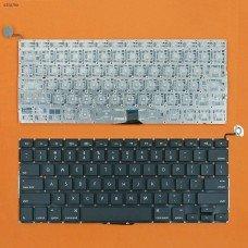 """Клавиатура для Apple Macbook Pro Unibody 13.3"""" A1278 MB467, US, Black, (горизонтальный Enter)"""