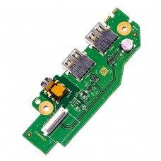Плата LS-F992P для Acer Predator PH315-51 PH317-52 GTX1060, (55.Q3FN2.001, 2xUSB, Audio)