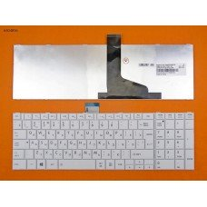Клавиатура Toshiba Satellite C850 C855 C870 C875 L850 L870 L875 RU (белая, Original)