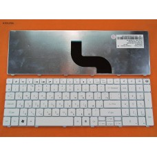 Клавиатура Gateway Id 15.6, Packard Bell Tm81 Tm86 Tm87 Tm89 Tm94 Tx86, Nv50 White RU