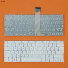 Клавиатура для Asus F200 X200 R202 series, RU, (белая)
