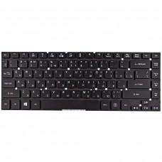 Клавиатура для Acer Aspire 3830 4830 4755, ES1-511 ES1-520 ES1-411 ES1-431, E1-410 E1-422 V3-472, Black, RU