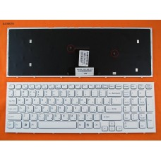 Клавиатура SONY Vaio VPC-EB, RU, белая