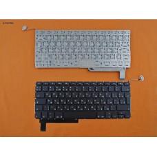 """Клавиатура для Apple Macbook Pro 15"""" A1286, 2009 2010 2011 2012, RU, Black, (под подсветку, вертикальный Enter)"""